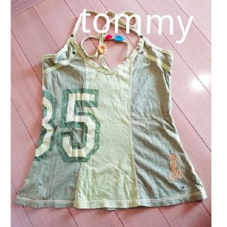 トミーヒルフィガー(TOMMY HILFIGER)のTOMMY HILFIGER キャミソール M~Lsize(キャミソール)