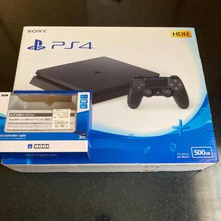 PlayStation4 - PS4 本体 500GB 薄型 Jet Black ジェットブラック