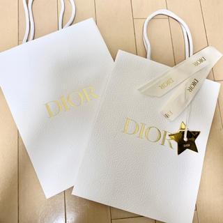 Christian Dior - DIOR♡ショッパー2枚セット 星チャーム付き