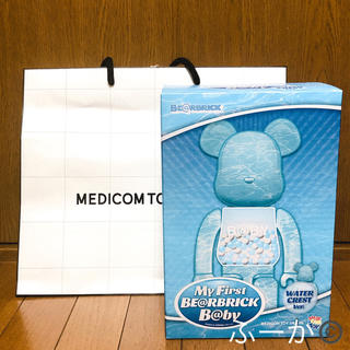 MEDICOM TOY - BE@RBRICK WATER CREST 400% 100% ベアブリック千秋