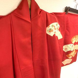 着物 和服 赤