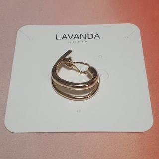 トリプルエー(AAA)のLAVANDA ダブルクリップイヤカフ(イヤーカフ)
