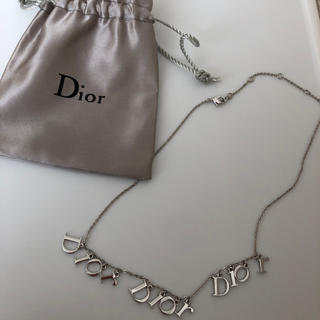 Christian Dior - Dior ロゴ イニシャル ネックレス 3連