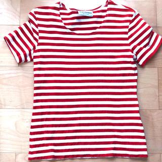 マリメッコ(marimekko)のマリメッコmarimekkoボーダーTシャツ(Tシャツ(半袖/袖なし))