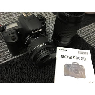 Canon - Canon 一眼レフ 9000D ダブルレンズ付