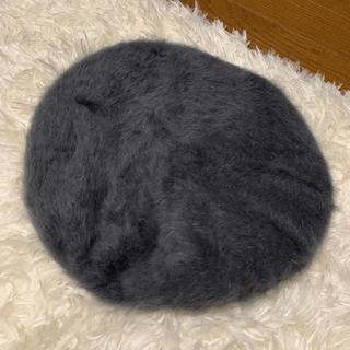 ユニクロ(UNIQLO)のUNIQLO ユニクロ ファー ベレー帽(ハンチング/ベレー帽)