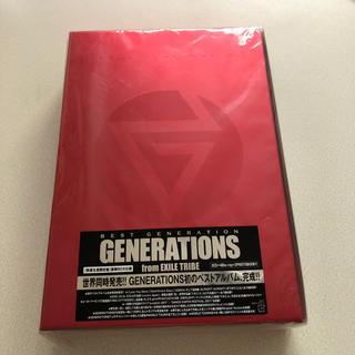 ジェネレーションズ(GENERATIONS)の最終処分価格!GENERATIONS ''BESTGENERATIONS''美品(ミュージシャン)