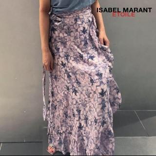 Isabel Marant - イザベルマラン リネン花柄マキシスカート
