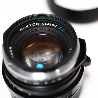 ライカ(LEICA)のVoigtländer nokton 40mm F1.4 s.c.(レンズ(単焦点))