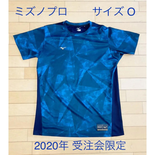 MIZUNO - 【ミズノプロ】展示会限定グラフィックTシャツ サイズO ネイビー
