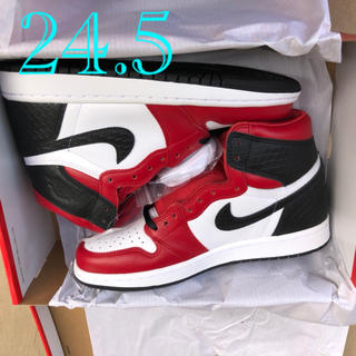 "ナイキ(NIKE)のNIKE AIR JORDAN 1 HIGH OG ""SATIN RED""(スニーカー)"