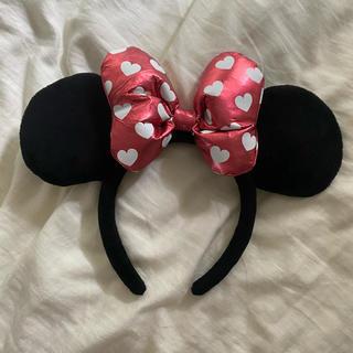 ディズニー(Disney)のミニーちゃん カチューシャ(キャラクターグッズ)