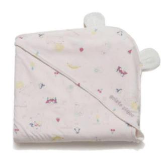 ジェラートピケ(gelato pique)の【BABY】シロクマフルーツ baby ブランケット♡ピンク(おくるみ/ブランケット)