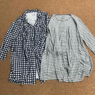 ムジルシリョウヒン(MUJI (無印良品))の授乳服 2枚セット マタニティパジャマ 無印(マタニティパジャマ)