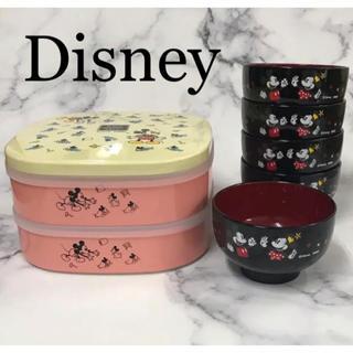Disney - 残り数セット!☆Disney☆ミッキーのお椀とオードブルのセット
