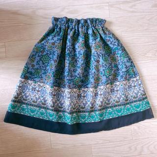 ニッセン(ニッセン)のNISSEN 柄スカート(ひざ丈スカート)