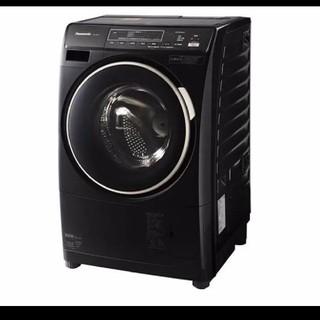 Panasonic - 希少 ブラック プチドラム ワンルームでも設置可能 洗濯機 らくらく乾燥機