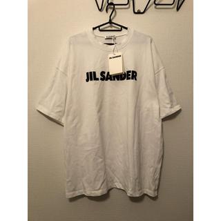 ジルサンダー(Jil Sander)のジルサンダー ロゴ Tシャツ S タグ付 (Tシャツ/カットソー(半袖/袖なし))