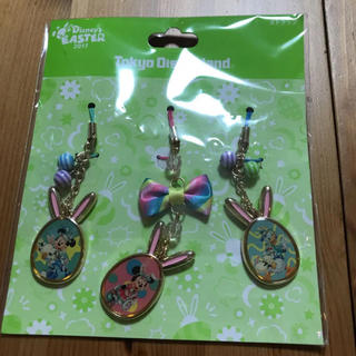 Disney - 東京ディズニーランド ディズニーイースター ストラップ キーホルダー