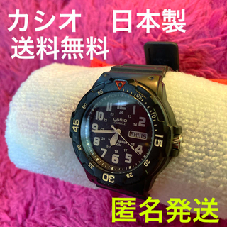 カシオ(CASIO)のCASIO カシオ 腕時計 大きめ ユニセックス 中古品 送料無料(腕時計(デジタル))