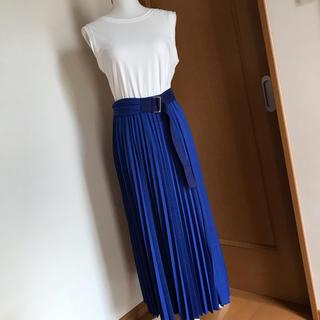 ドロシーズ(DRWCYS)の【美品】 DRWCYS プリーツスカート(ひざ丈スカート)