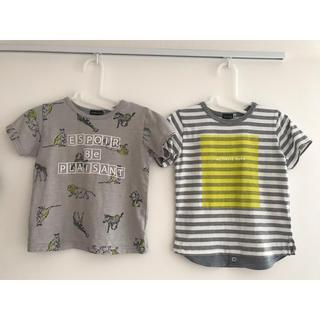 ベベ(BeBe)のTシャツ 2枚 パンツ BEBE べべ 110センチ(Tシャツ/カットソー)