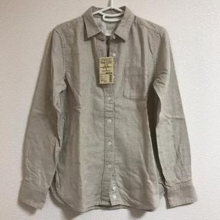 ムジルシリョウヒン(MUJI (無印良品))の新品未使用 無印良品 シャツ Sサイズ(シャツ/ブラウス(長袖/七分))