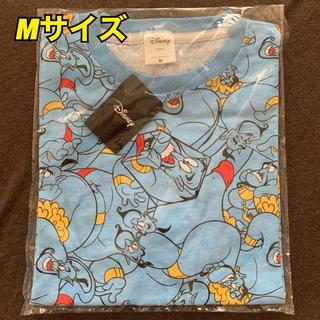 ディズニー(Disney)の【未使用】ジーニー ぎっしり 総柄 Tシャツ Mサイズ(シャツ/ブラウス(半袖/袖なし))