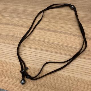 エムコーエン(M.Cohen)のm.cohen ブラックパール ブレスレット ネックレス 両用(ブレスレット)