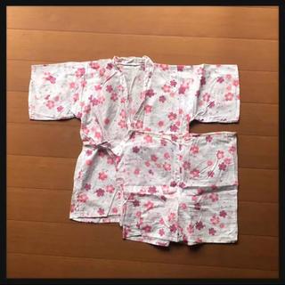 ニシマツヤ(西松屋)の訳あり 女の子 甚平 浴衣(甚平/浴衣)