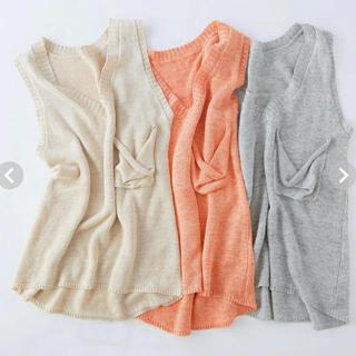 シールームリン(SeaRoomlynn)のsearoomlynn   LOOSEノースリーブニット(Tシャツ(半袖/袖なし))