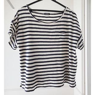 ジャーナルスタンダード(JOURNAL STANDARD)のジャーナルスタンダード ゆったり綿100%ボーダーTシャツ(Tシャツ(半袖/袖なし))