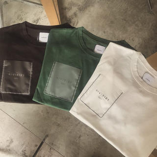 Ameri VINTAGE - ANNIVERSARY CLEAR POCKET T-shirt
