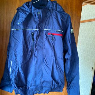 トライチ(寅壱)の寅壱 空調服 クールジャケット 紺 Lサイズ(ブルゾン)