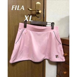 フィラ(FILA)のフィラ VL1421 フレアスコートピンク XL(ウェア)
