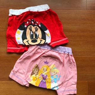 ディズニー(Disney)の美品☆ディズニー プリンセス ミニー ショートパンツ 2枚セット(パンツ)