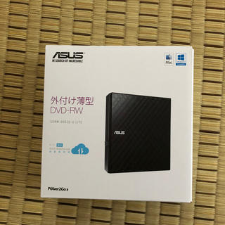 エイスース(ASUS)の外付けD-RW(PC周辺機器)