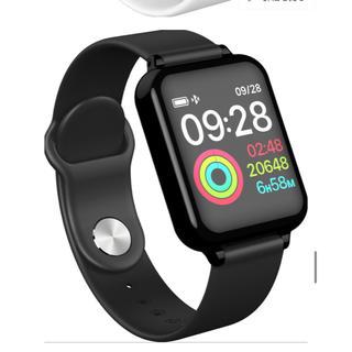 新品未使用 多機能 スタートウォッチ  黒 Bluetooth(腕時計(デジタル))