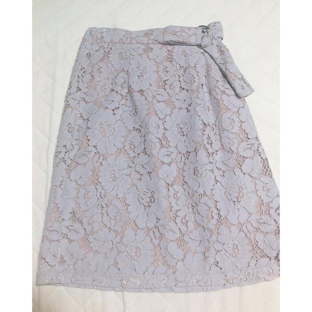 MISCH MASCH(ミッシュマッシュ)の総レースタイトスカート レディースのスカート(ひざ丈スカート)の商品写真