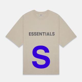FEAR OF GOD - Fear of god Essentials Tan T-Shirt S