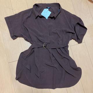 Avail - ベルト付き半袖シャツ 大きいサイズ 大きなサイズ