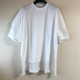 エンフォルド(ENFOLD)の今季新品 ENFOLD エンフォルド スーピマ天竺ビッグTシャツ(Tシャツ(半袖/袖なし))