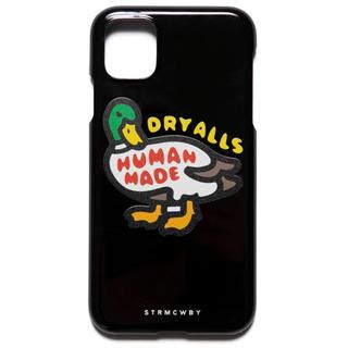 アベイシングエイプ(A BATHING APE)のNIGO HUMAN MADE iPhone 11 ケース DUCK ダック 黒(iPhoneケース)