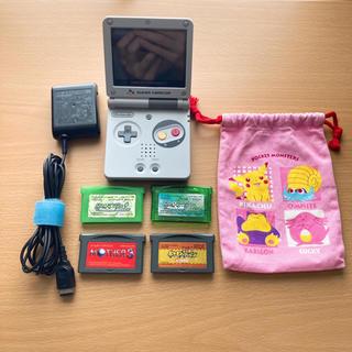 ゲームボーイアドバンス(ゲームボーイアドバンス)のゲームボーイアドバンスSP IPS液晶 スーパーファミコンカラー ジャンク(携帯用ゲーム機本体)