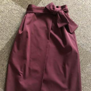 STRAWBERRY-FIELDS - ストロベリーフィールズ セミタイトスカート