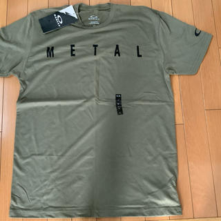 Oakley - オークリー XーMETAL Tシャツ 新品タグ付き L オリーブ