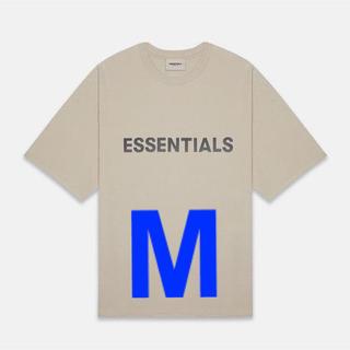 FEAR OF GOD - Fear of god Essentials Tan T-Shirt M