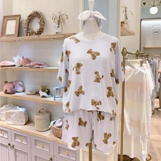gelato pique - 本日限りのタイムセール❗残り2点☆ベアモチーフTシャツ&ショートパンツ ミント