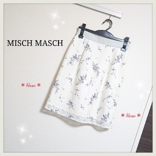 MISCH MASCH - MISCH MASCH*フラワーレースタイトスカート