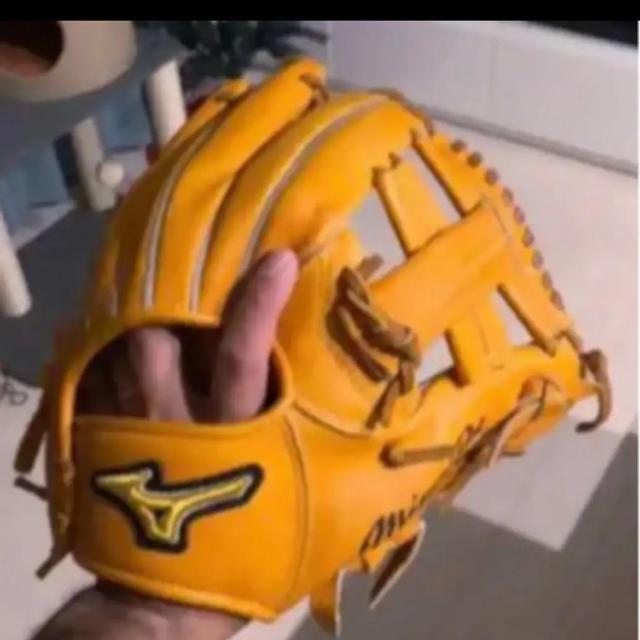 MIZUNO(ミズノ)のミズノプロ K型 スポーツ/アウトドアの野球(グローブ)の商品写真